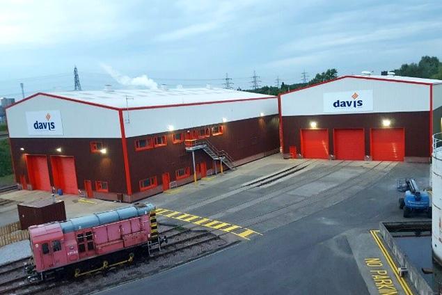 Transformed into locomotive workshops