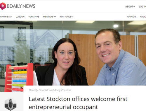 Latest Stockton offices welcome first entrepreneurial occupant