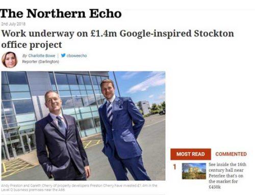 Work underway on £1.4m Google-inspired Stockton office project