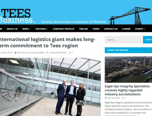International logistics giant makes long-term commitment to Tees region
