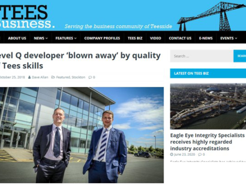 Level Q developer 'blown away' by quality of Tees skills
